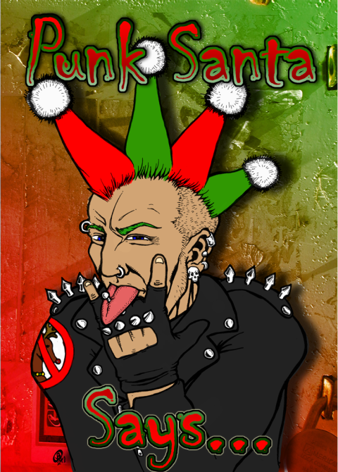 Punk_Christmas_Card_by_Snigom